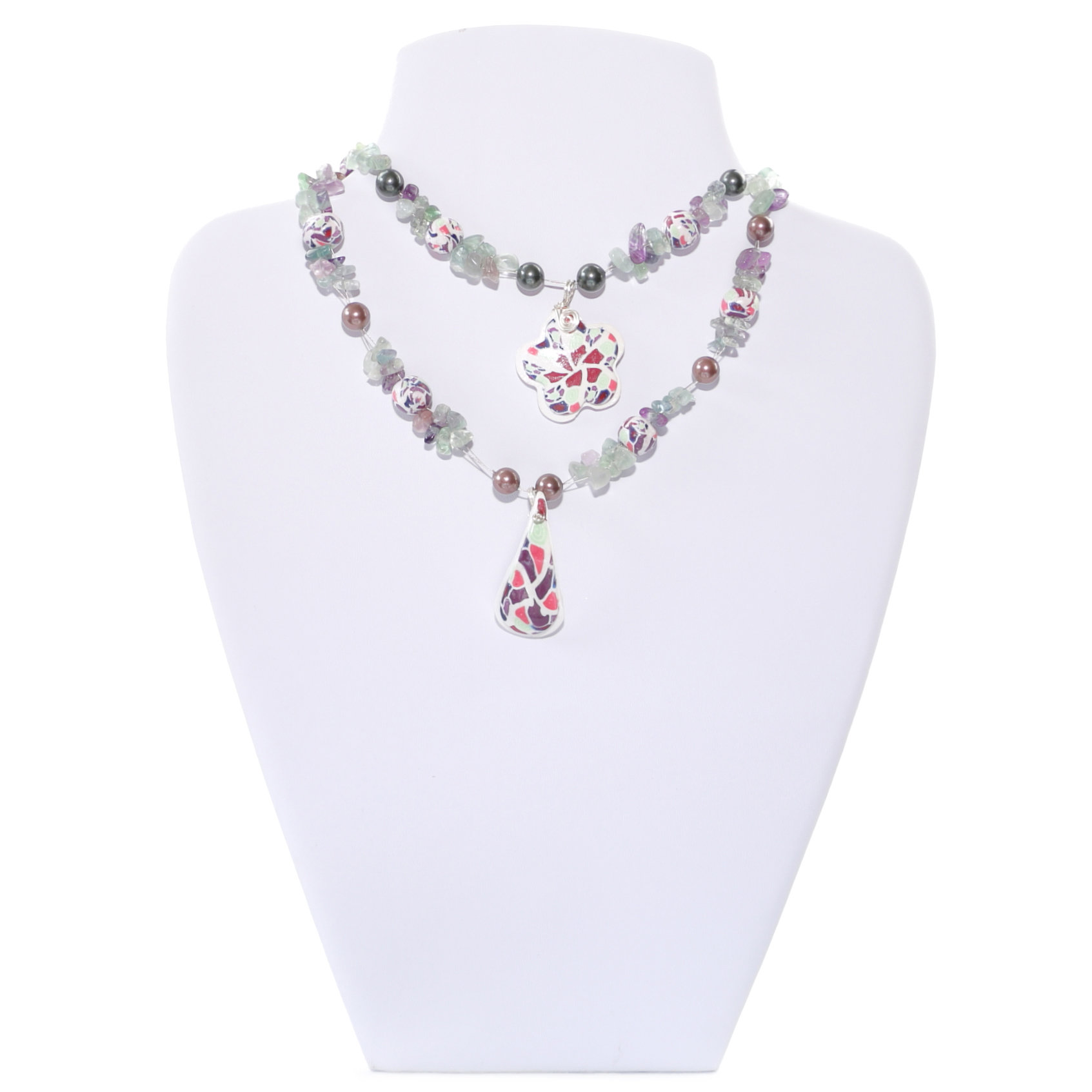 contemporary necklace for look with less a this stylish opt products labels